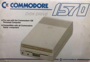 Commodore 1570 disk drive