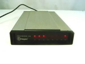 Hayes compatible modem