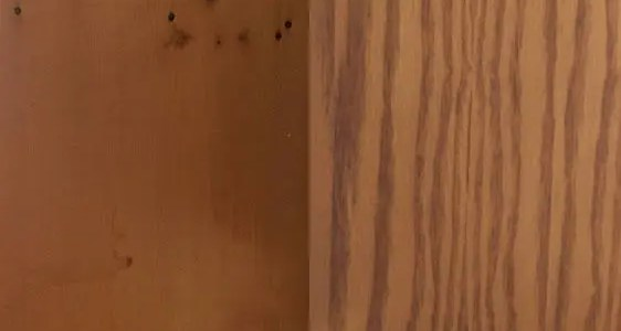 How to stain pine to look like oak