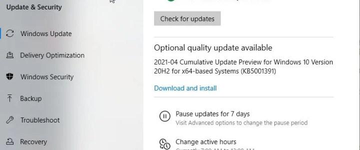 Automatic updates vs managed updates