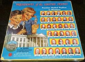 Marx presidential figurines