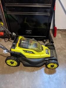 Ryobi 13 inch ONE+ lawn mower