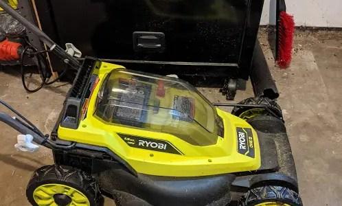 Ryobi 13 inch ONE+ Lawn Mower review