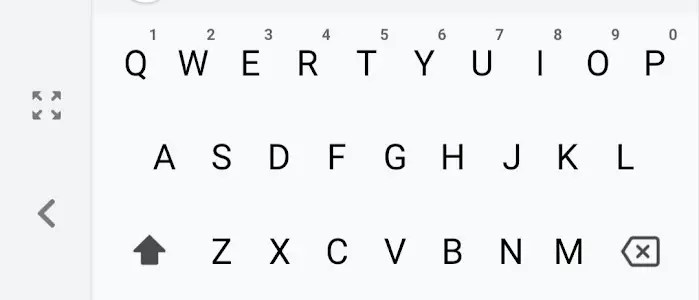 Fix the sidebar on your Android keyboard