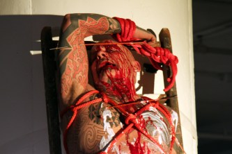 RON ATHEY 02.01.14 photo by ROSA GAIA SAUNDERS