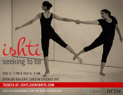 Ishti-Seeking-To-Be_Nov5-6_poster