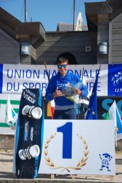 Champion de France FFVL Kitesurf combiné Lycées