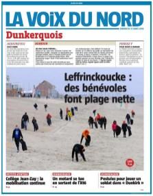 1603 Voix du Nord Bilan IO 2016 Nettoyage de plages USL Jogging 3