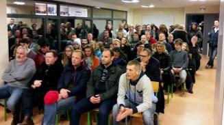 Un public nombreux