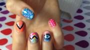 scream nails nail art daily