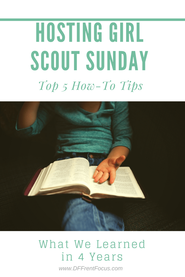 5 Tips for Planning a Girl Scout Sunday Event