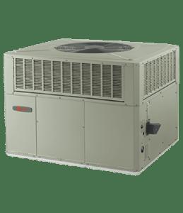 TRANE xr14c packaged gas electric unit lg