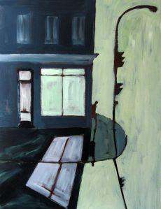 ''Mile-End, 06-2012''. Acrylique sur toile. 36x48''.