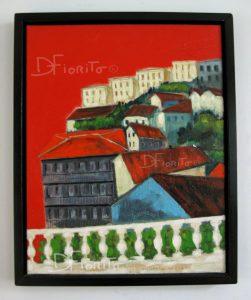 """Valparaiso du Chili. Chat noir, chat blanc"" 2003"