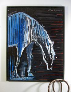 Cheval bleu 2011