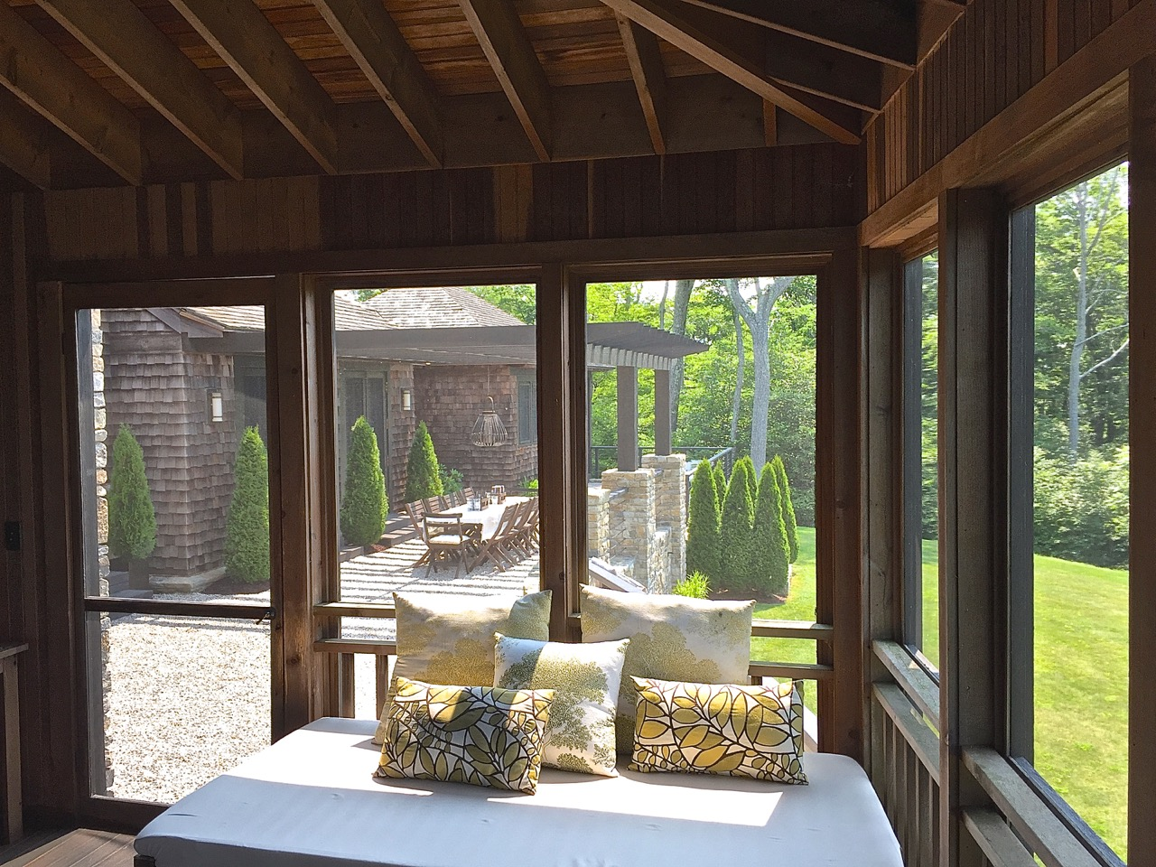 how a screened porch is a timeless