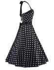 Vintage 1950s Style Dresses Polka Dots