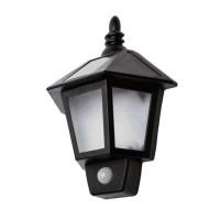 Solar Power LED Wall Lamp Eaves Lights Outdoor Garden Body ...