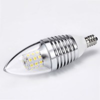 LED E12 Candelabra Base Bulb 7W 110V Daylight White 6000 ...