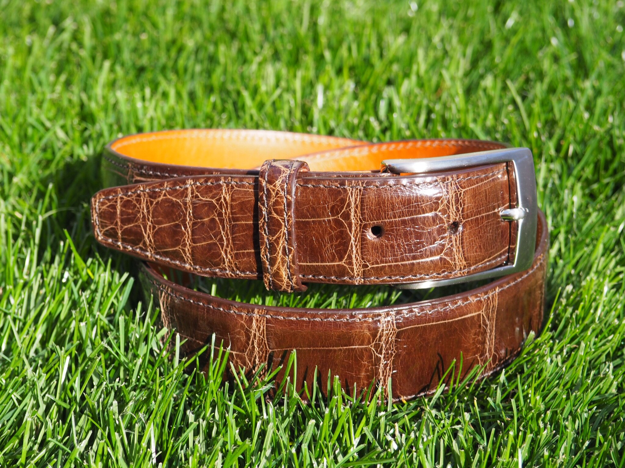 real leather belts