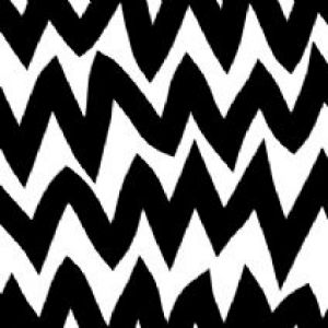 Avalisa Zig Zag Stretched Wall Art