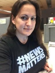 Ariel Zangla of the Kingston newsroom
