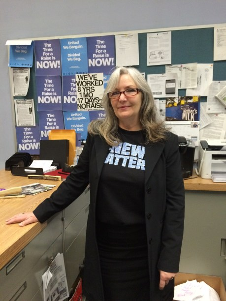 "Classified Advertising Supervisor Carol Stahl shows how to proclaim #newsmatters and still be ""business casual"""