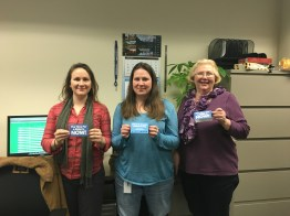 Publication Producers (from left to right) Shannon Wills, Bonnie Yunker, Connie Utley.