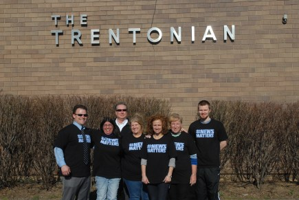 Trentonian sports, advertising and classified guild members