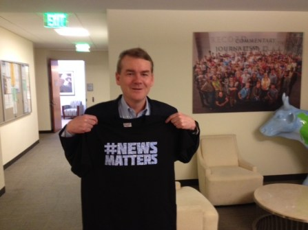 Colorado's U.S. Senator, Michael Bennet #NewsMatters