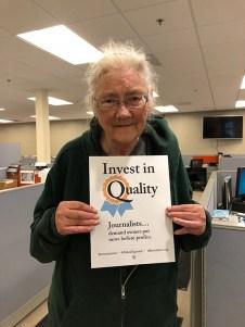 Diane Swanberg, circulation, Monterey
