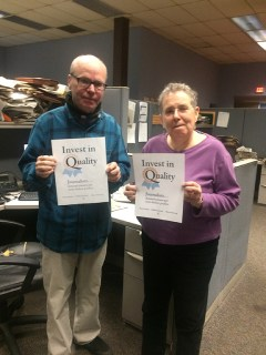 Paul Kirby and Diane Pineiro-Zucker, Kingston
