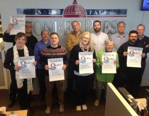 St. Paul Pioneer Press staff