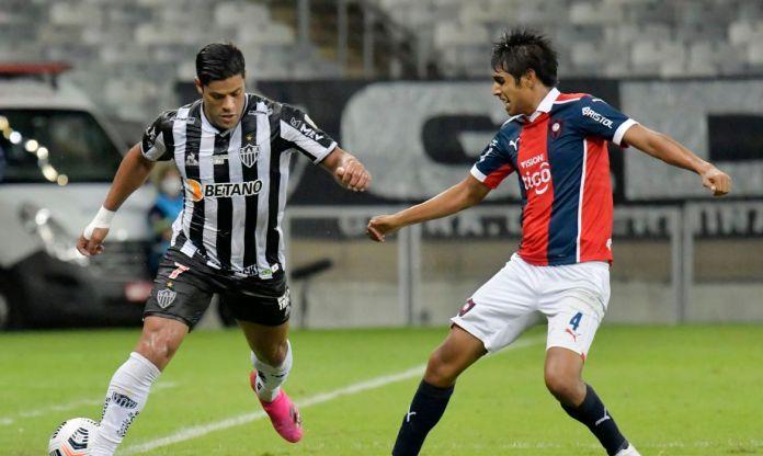 Atletico Mineiro, Cerro Porteño, copa libertadores