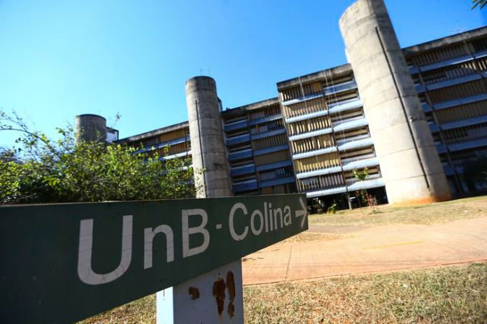 A Colina, na Universidade de Brasília, é um dos pontos da Rota do Rock.