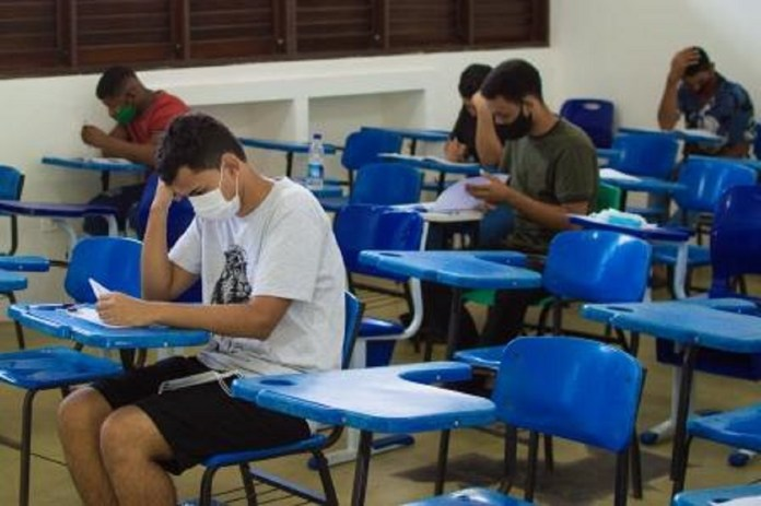 Segundo dia de prova do PAES 2021 (Foto: Divulgação)
