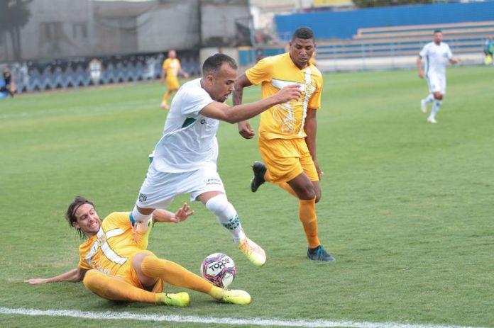 Jogo Gama x Brasiliense pelo campeonato Brasileiro da Série D no Estádio Ciro Machado do Espírito Santo - Defelê