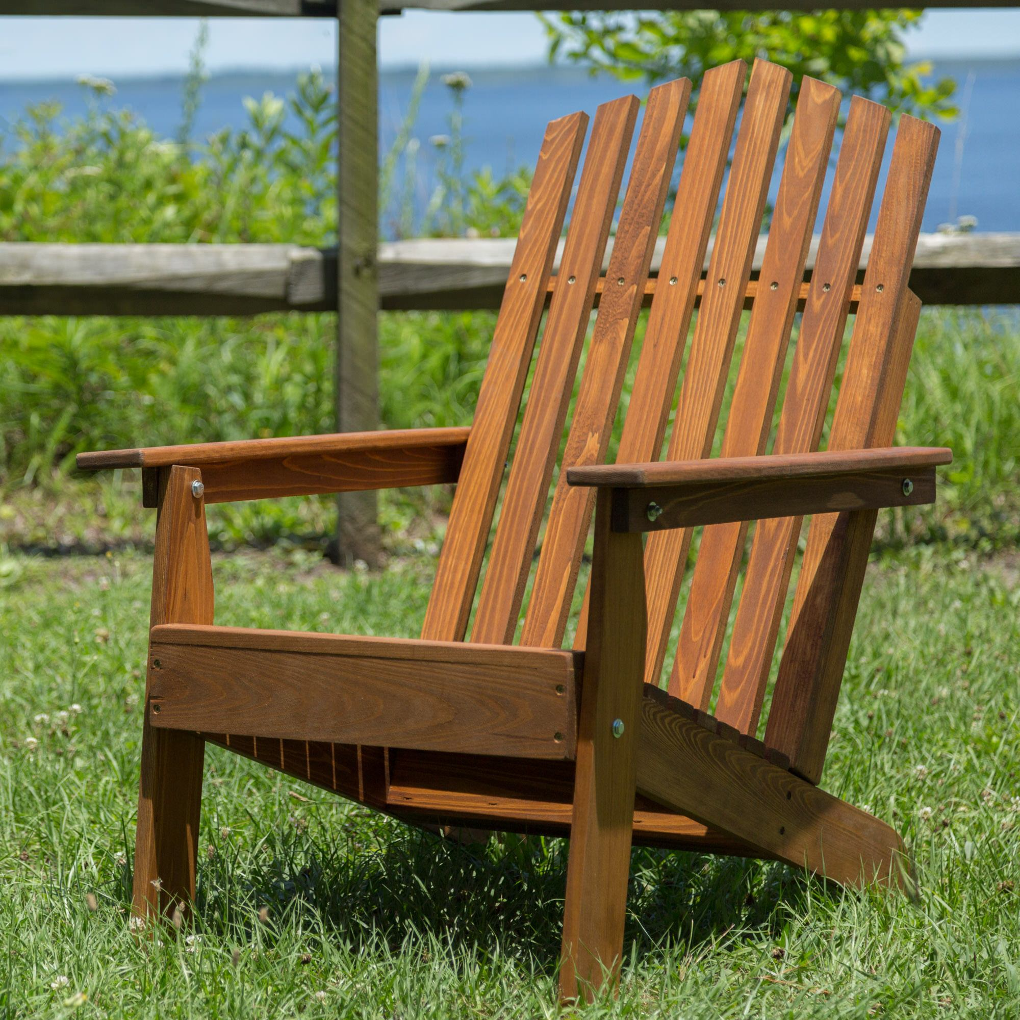 Foldable Adirondack Chair Pinetown Folding Adirondack Chair Dfohome