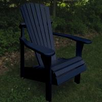 Classic Painted Adirondack Chairs Set of 2 | DFOHome