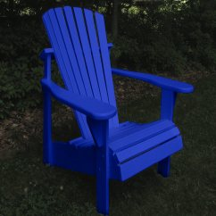 Adirondack Chairs Fire Pit Leather Chair And Ottoman Set Classic Painted Of 2 | Dfohome