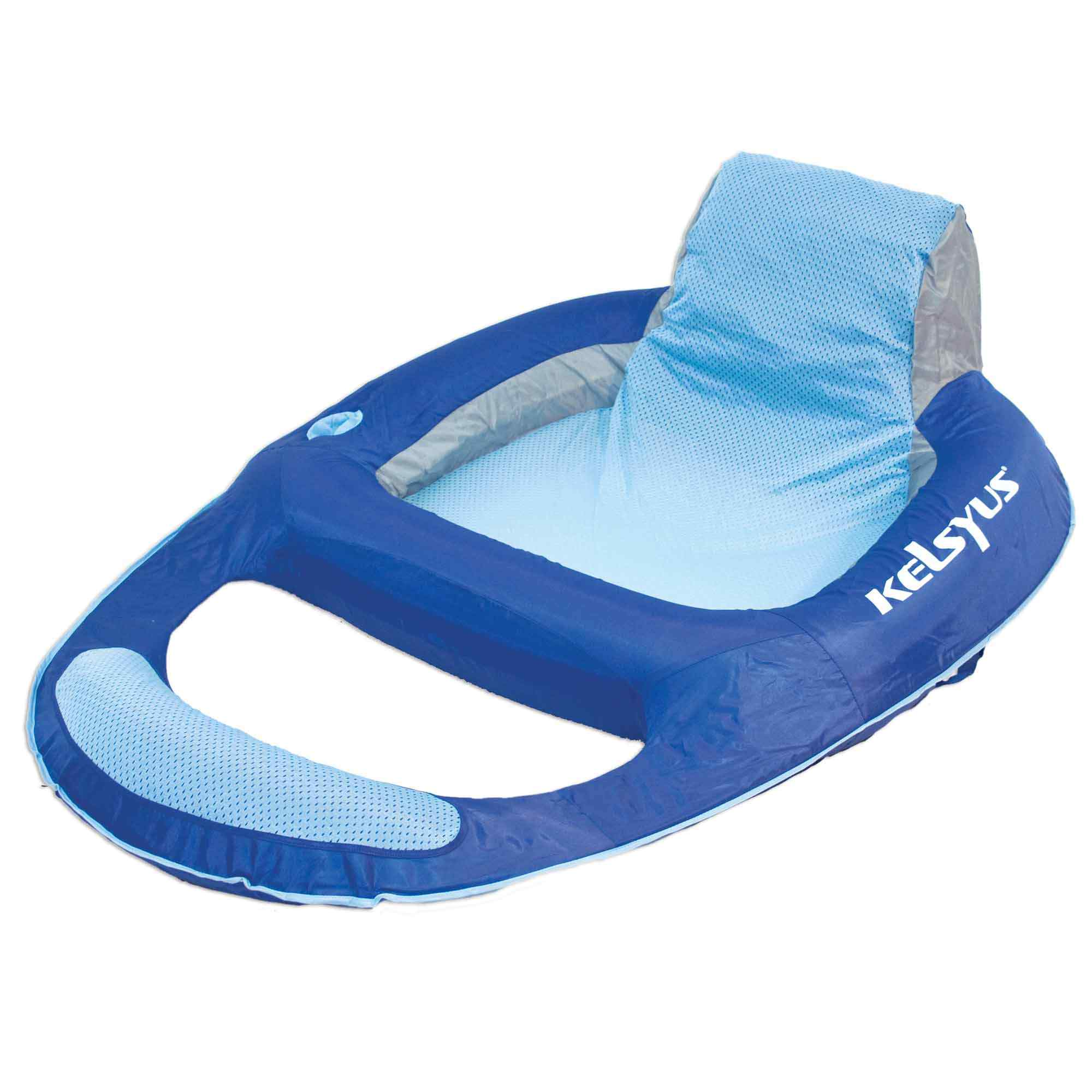 floating pool chair hanging pakistan large portable lounger with headrest dfohome