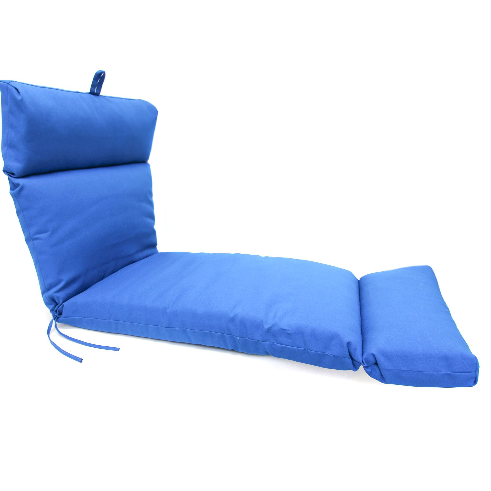blue lounge chair cushions best reclining rocking chairs for nursery pacific chaise cushion dfohome