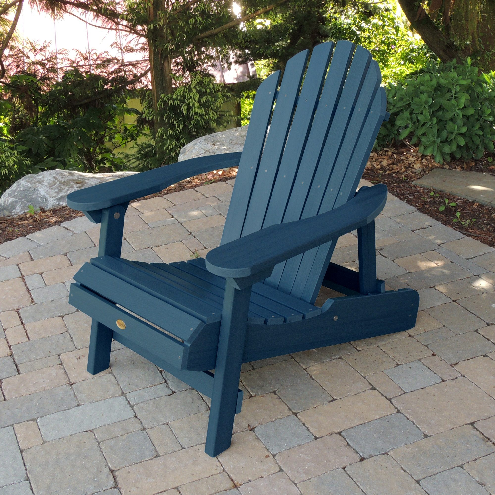 folding adirondack chairs ace hardware chocolate recliner chair hamilton and reclining highwood