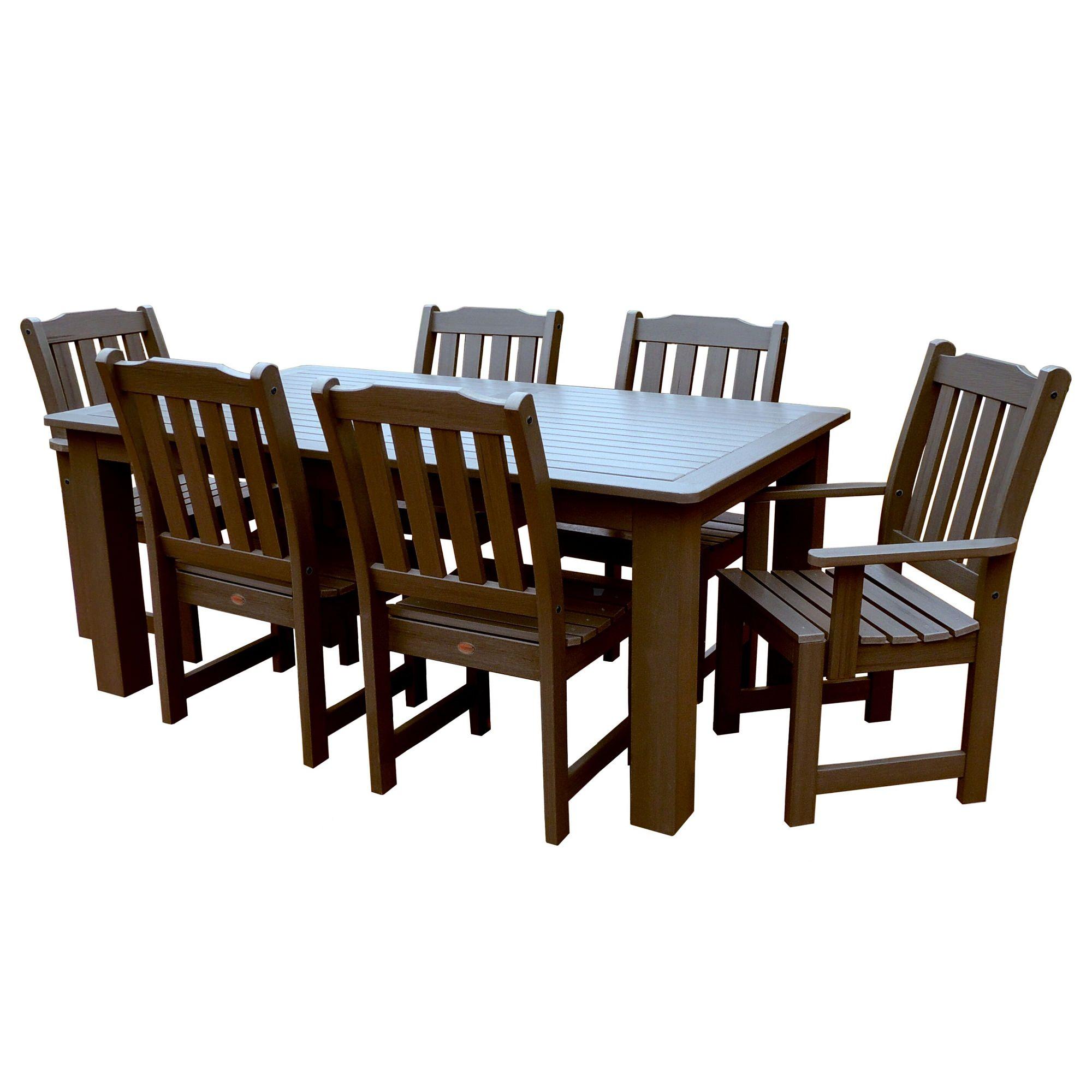 Lehigh 7pc Rectangular Dining Set Highwood