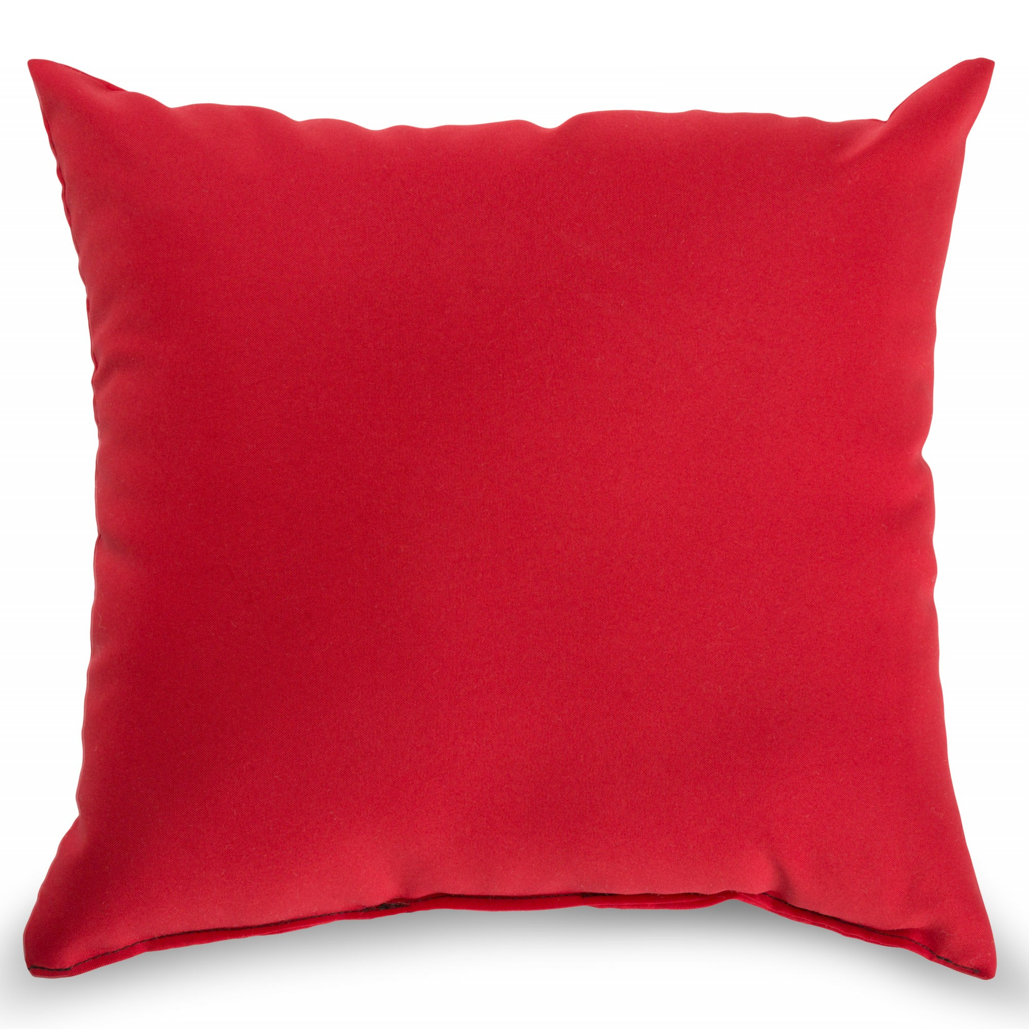 Red Outdoor Throw Pillow  BSQIRDK  DFOHome