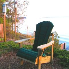 Adirondack Chairs Cushions Haworth Lively Chair Review Shop Cushion Forest Green