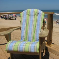 Sunbrella Adirondack Chair Cushions Leather Zero Gravity Chairs Cushion Dfohome