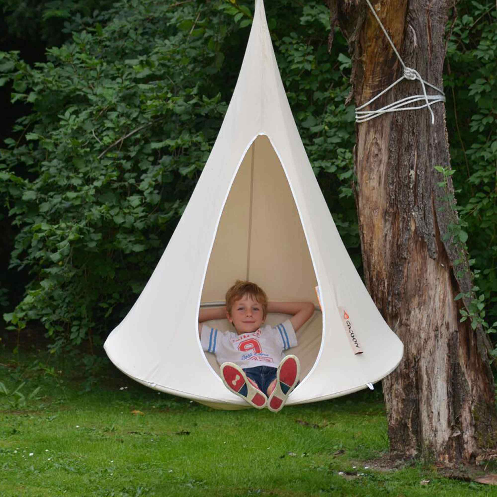 hanging chair cocoon desk lowers itself cacoon bonsai hammock dfohome