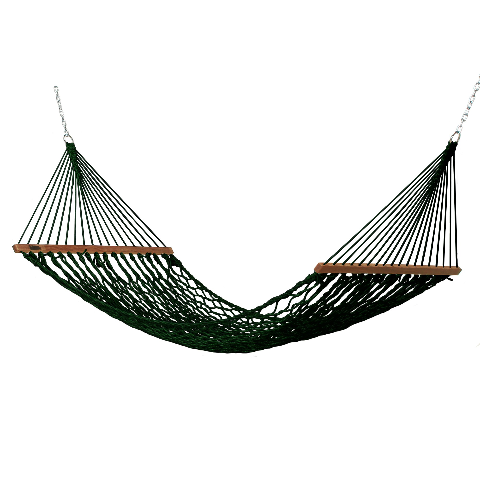 Small Duracord Rope Hammock In Antique Brown