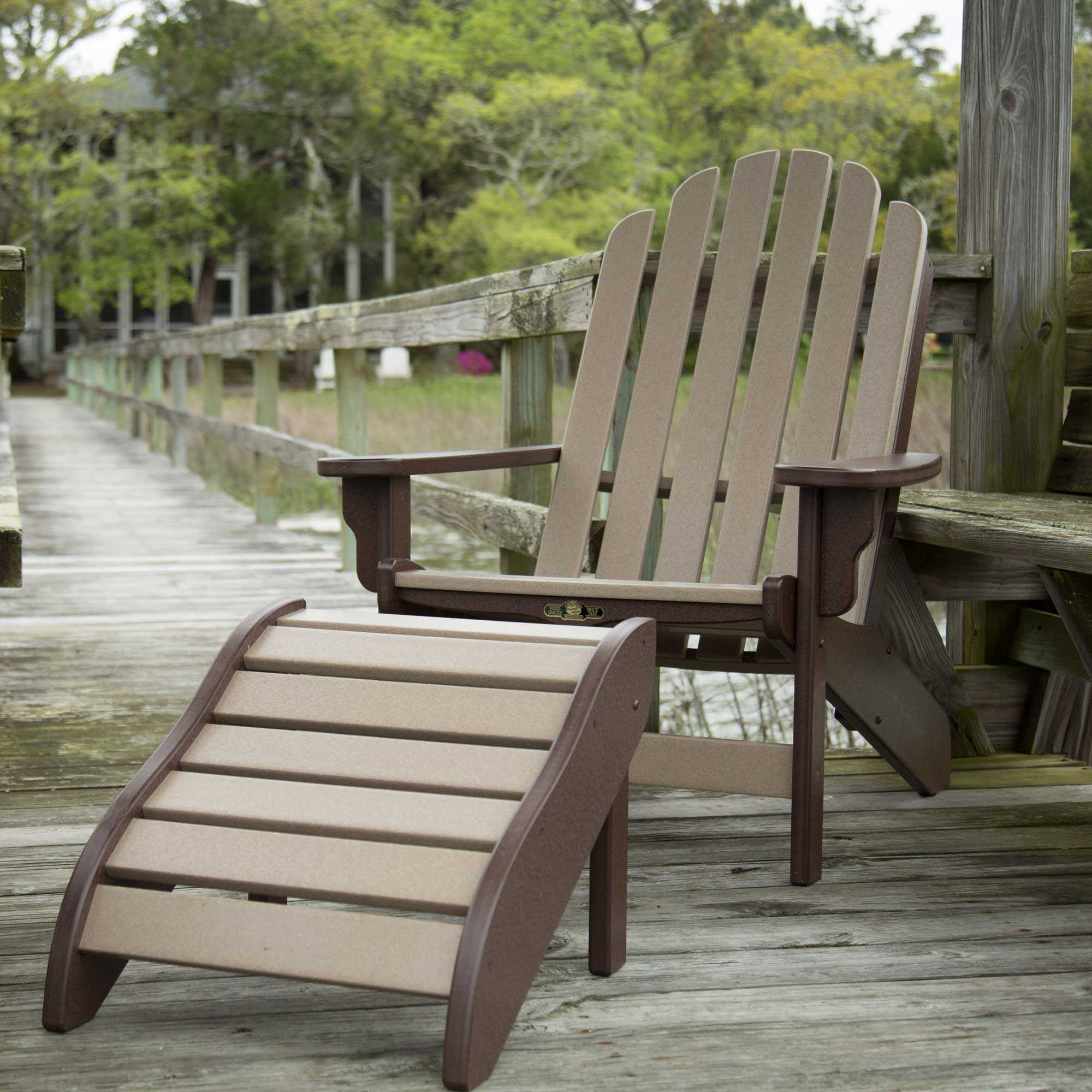 adirondack chairs on sale glider rocking chair and ottoman replacement cushions shop durawood essentials dfohome